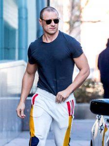 James McAvoy Workout