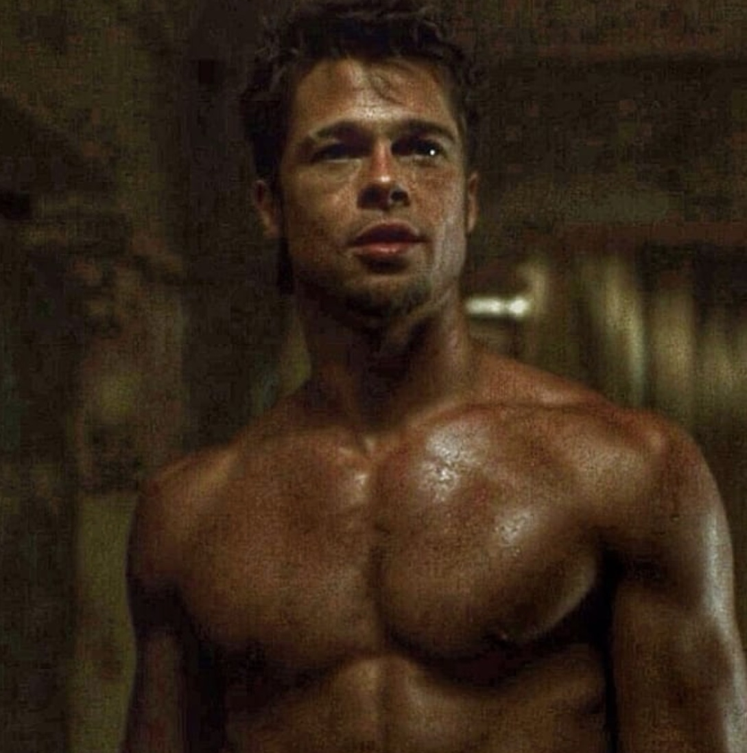 Brad Pitt Fight Club Workout - Muscle Forever