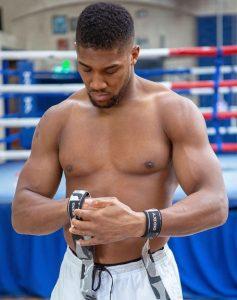 Anthony Joshua Workout